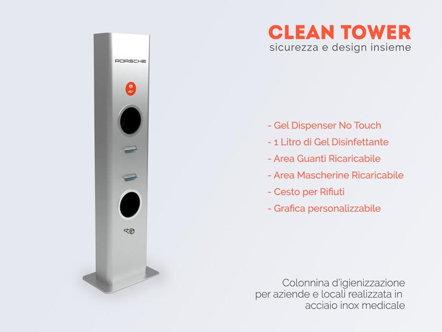 dispenser automatico Prevenzione Covid-19 di Design